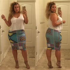 Looks d'un jour avec Laura Lee Curvy Girl Fashion, Look Fashion, Plus Size Fashion, Fashion Outfits, Fashion Clothes, Fashion Ideas, Looks Plus Size, Look Plus, Laura Lee