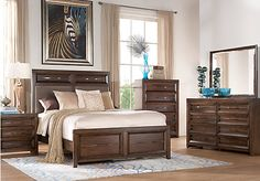 Shop for a Nori 5 Pc King Bedroom at Rooms To Go. Find Bedroom Sets that will look great in your home and complement the rest of your furniture.