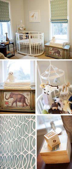 Andrew's Modern Jungle nursery