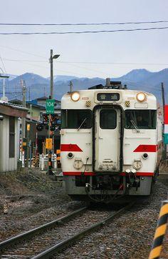 Hanawa-line between Akita and Iwate.