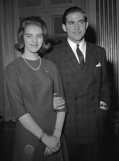 scanpix:  Anne-Marie and Constantine, engagement 1963