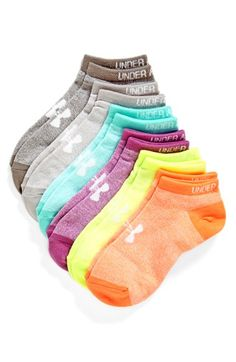 Under Armour No-Show Socks (6-Pack) available at #Nordstrom