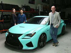 Lexus lets Instagram fans customize a sporty RC-F via @USATODAY