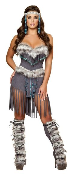 Adult Indian Hottie Woman Deluxe Native American Costume | $73.99 | The Costume Land