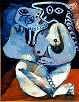 Pablo Picasso. hug, 1970
