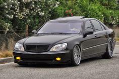 BENZTUNING: Mercedes-Benz S500 W220 BRABUS Style