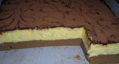 Home - Domaci Recept Czech Recipes, Ethnic Recipes, Fun Desserts, Dessert Recipes, Sweet Cakes, Something Sweet, No Bake Cake, Sweet Recipes, Creme