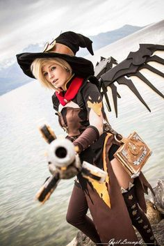 Image result for overwatch witch mercy cosplay