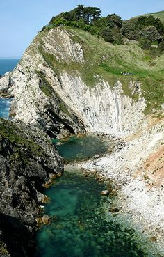 Stair Hole, Lulworth, Dorset, England