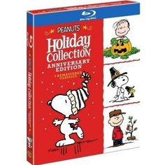 Peanuts Holiday Collection: Anniversary Edition - It's The Great Pumpkin, Charlie Brown / A Charlie Brown Thanksgiving / A Charlie Brown Christmas (Blu-ray) - Walmart.com