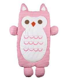 Another great find on #zulily! Owl Jersey Play Mat #zulilyfinds