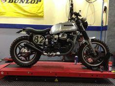 Honda cx 500 scrambler