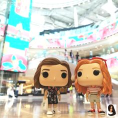 Stranger Things Funko Pop Eleven and Max at the Mall by Funk' My Pops, funkmypops, Season Millie Bobby Brown, Sadie Sink, Starcourt Stranger Things Funko Pop, Stranger Things Actors, Stranger Things Have Happened, Bobby Brown Stranger Things, Stranger Things Season 3, Stranger Things Aesthetic, Stranger Things Funny, Stranger Things Netflix, Funko Pop Dolls