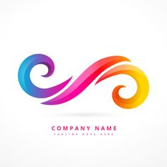 abstract wave logos free vector rugby logo pinterest logos rh pinterest com