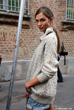 love chunky sweaters!