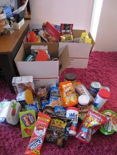 Care packages from @KokoLikes