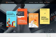 Hanwha S&C | Web Design File