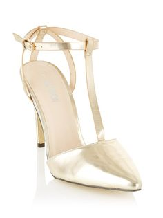 T-bar heels Gold Fresh Outfits, Dance Fashion, Buy Shoes, Best Brand, Style Ideas, Fashion Online, Latest Trends, Fashion Accessories, Man Shop