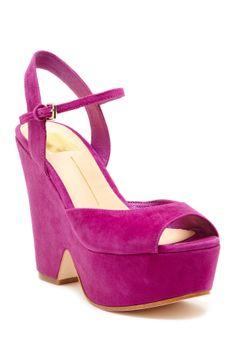 Dolce Vita Jacobi Platform Wedge Sandal- I'm only pinning this cause it has my name
