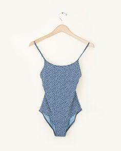 A.P.C. Tooshie One Piece Swimsuit in Marine | #MohawkGeneralStore #APC