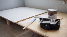 침실인테리어 - 아늑한 원목 수납 침대 만들기! with THE DIY : 네이버 블로그 Bath Caddy, Furniture, Home Decor, Decoration Home, Room Decor, Home Furnishings, Home Interior Design, Home Decoration, Interior Design