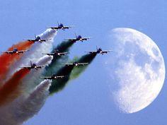 Aircraft Frecce Tricolori Italian Air Force Aerobatic Team