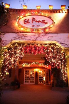 El Pinto - The restaurant where Presidents eat!
