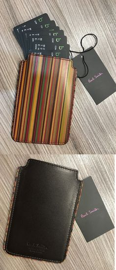 Checkbook holders 105408 paul smith business card holder saffiano checkbook holders 105408 paul smith vintage stripe business card holder made in italy colourmoves