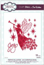 CED3016 Creative Expressions Dies by Sue Wilson Festive Collection 2015 - Christmas Angel