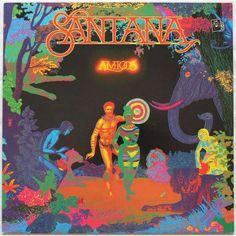 amigos by SANTANA, LP with rocknrollbazar - Ref:115484716