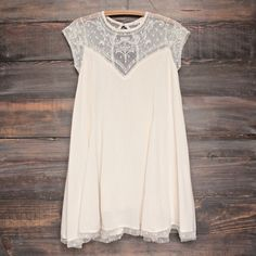 Embellished Trapeze Dress - more colors - shophearts - 5 Super cute. Looks too short. Maybe with leggings? Cute Dresses, Beautiful Dresses, Cute Outfits, Summer Dresses, Moda Casual, Mode Style, Sweater Weather, Dress Me Up, Passion For Fashion
