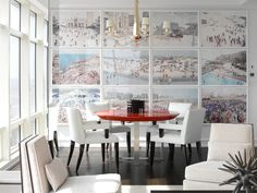 dreamy dining room
