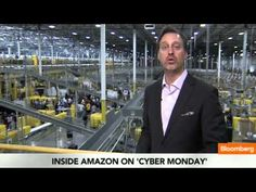Nov. 26 (Bloomberg) -- Cory Johnson looks at an Amazon.com distribution center.