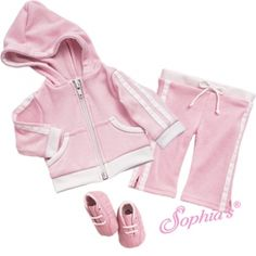 Pink Capri Sweatsuit