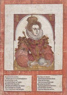 Elizabeth I contemporary broadsheet