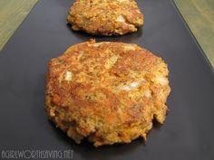 #paleo Salmon Cake: 1 6-oz. can of Boneless and Skinless Salmon; ½ of a medium onion, diced; 1 tbsp. + 1 tsp. of Coconut Flour; 2 eggs; 1 rib of celery, diced; 1 tbsp of dried dill; 1 tsp of lemon pepper; ¼ tsp of Celtic Sea Salt; 3 tbsp of coconut oil/butter/ghee