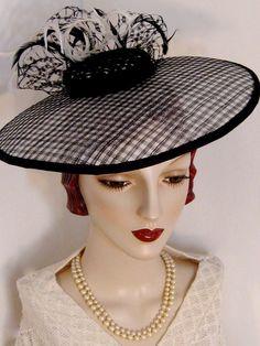 Retro 50's New Look Dish Hat by OrsiniMedici on Etsy, $168.00