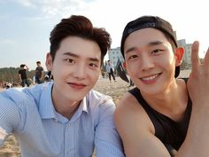 Lee jong Sik & Jung Hae In