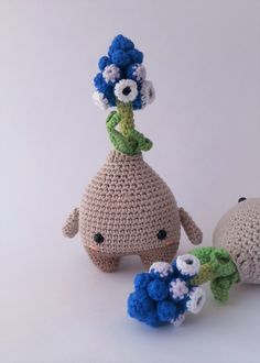 Maria the flower made by Descabdello / crochet pattern by lalylala