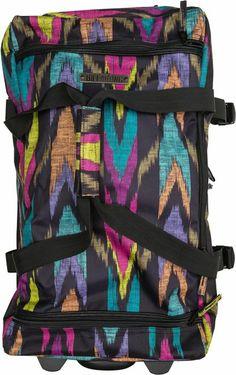 Billabong Travelin' Vacay Roller Travel Bag.http://www.swell.com/New-Arrivals-Womens/BILLABONG-TRAVELIN-VACAY-ROLLER-TRAVEL-BAG?cs=MU