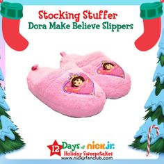 Stocking Stuffer Idea: Dora Slippers!