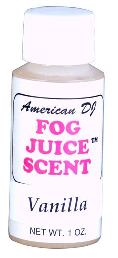 American Dj F-Scent Vanilla Scent For Water Based Fog Juice: Amazon.ca: Musical Instruments, Stage & Studio
