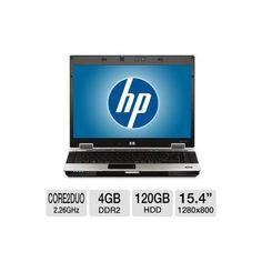 HP EliteBook 8530p Refurbished Notebook PC - Intel Core 2 Duo 2.26GHz, 4GB DDR2, 120GB HDD, DVD-ROM, 15.4 Display, Window 7 Home Premium 32-bit