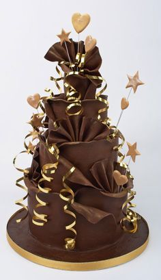 Chocolate Wedding Cakes1 |Pinned from PinTo for iPad|