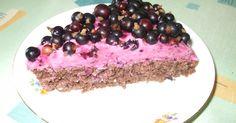 Recept na Osviežujúci ríbezľový koláč z kategorie snadno a rychle, fitness, pro začátečníky: Cesto: 150 g mleté ovsené vločky, 3 PL med, 2 vajc...