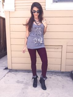"""Star Wars """"MAY THE FORCE BE WITH YOU"""" - geeky tank #ootd"""