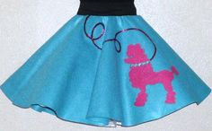 New Girls READY TO SHIP Hot Pink and by sarahspoodleskirts on Etsy, $29.99