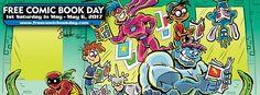 Vier vandaag Free Comic Book Day in je comic shop