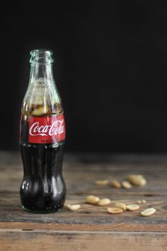 A story about someone's memories of this Southern tradition....peanuts in a coke bottle and there is a recipe for coca cola cupcakes with a salty peanut frosting ...I'd like to try that.