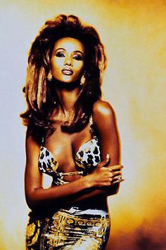 Top Models of the World - Iman for Versace
